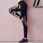 custom printed tight fitness sports yoga leggings for women